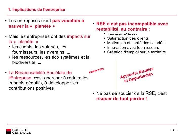 <ul><li>RSE n ' est pas incompatible avec rentabilité, au contraire : </li></ul><ul><ul><ul><ul><li>Économies d 'énergie <...