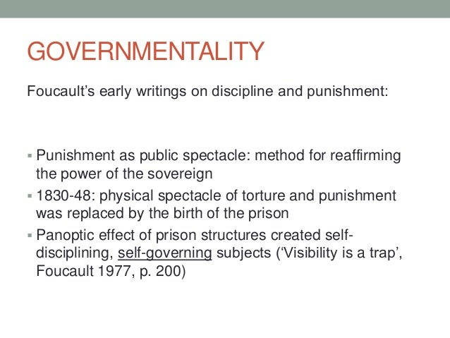 foucault utes vision from do-it-yourself torture essay