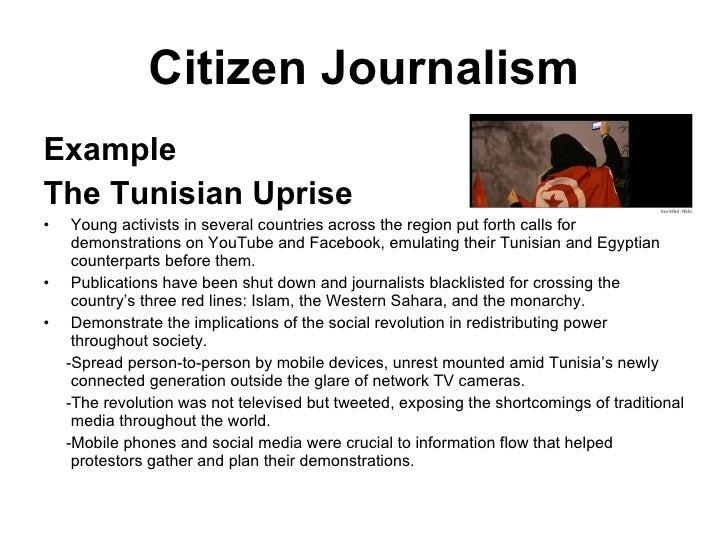 Citizen Journalism Wk7