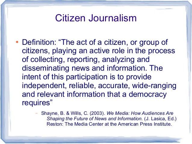 JOURNALISM DEFINITION EBOOK DOWNLOAD | More Pdf