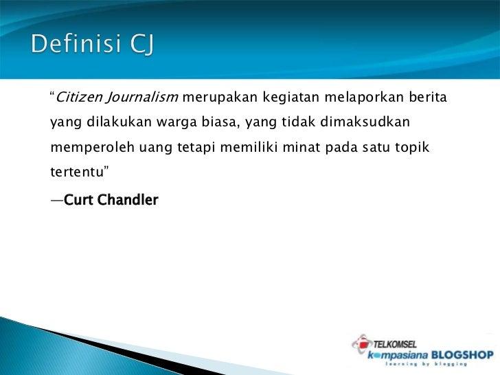 Contoh Berita Citizen Journalism Contoh Lam