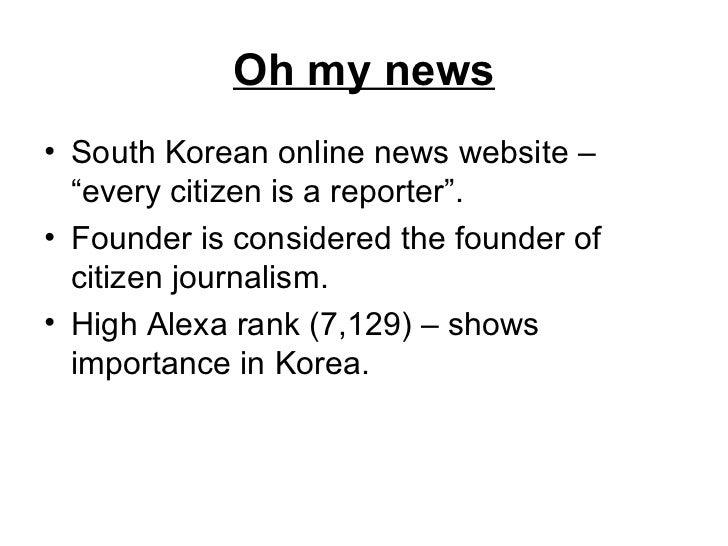 Citizen Journalism Examples