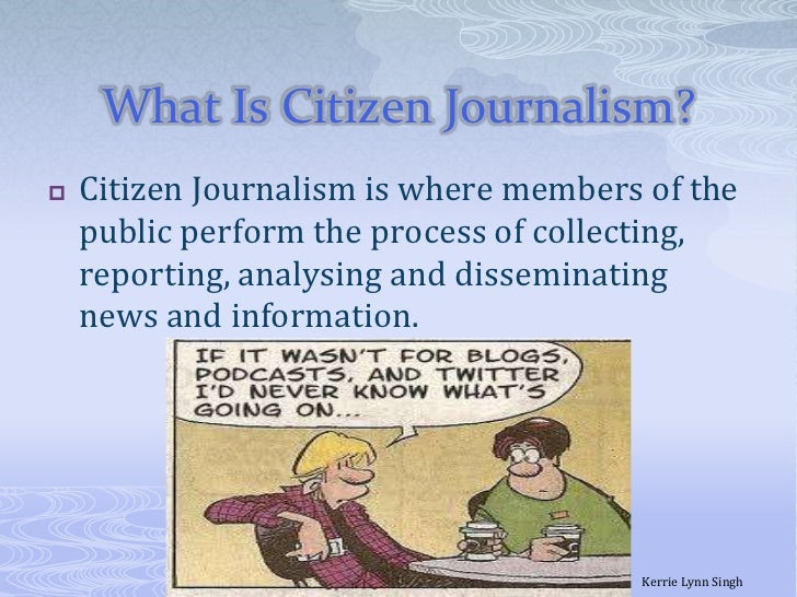 citizen journalism slides