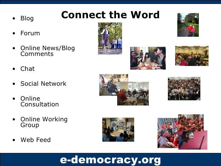 Connect the Word <ul><li>Blog </li></ul><ul><li>Forum </li></ul><ul><li>Online News/Blog Comments </li></ul><ul><li>Chat <...