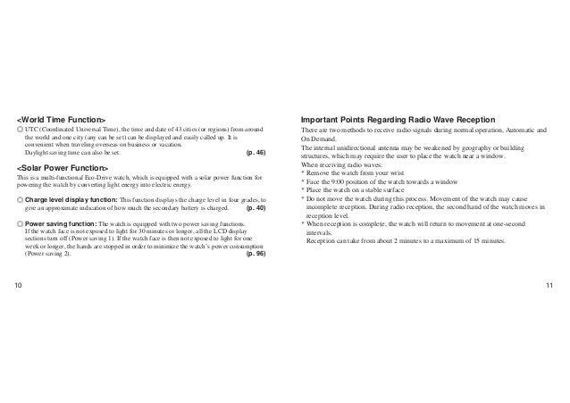 citizen aqualand promaster instruction manual