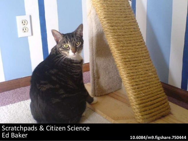 Scratchpads & Citizen Science Ed Baker 10.6084/m9.figshare.750444