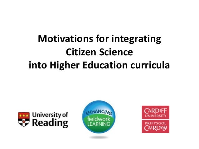 Motivations for integrating Citizen Science into Higher Education curricula