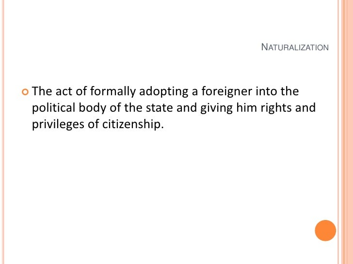 what citizenship is acquired by blood relationship