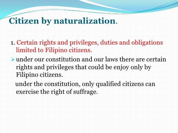citizenship and suffrage Of making these children and teens aware of the woman's suffrage movement and its  the 14th amendment in 1868 established citizenship for all those born in.