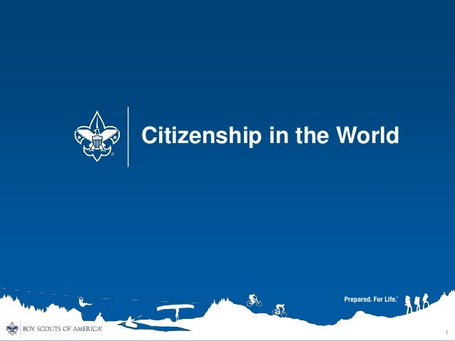 citizenship in the world prerequisites