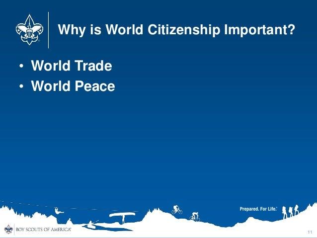 Citizenship In The World Merit Badge University 2018
