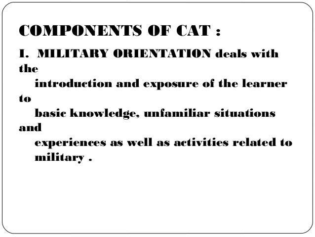 Citizenship advancement training