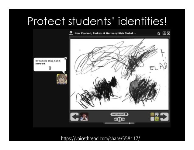 https://voicethread.com/share/558117/ Protect students' identities!