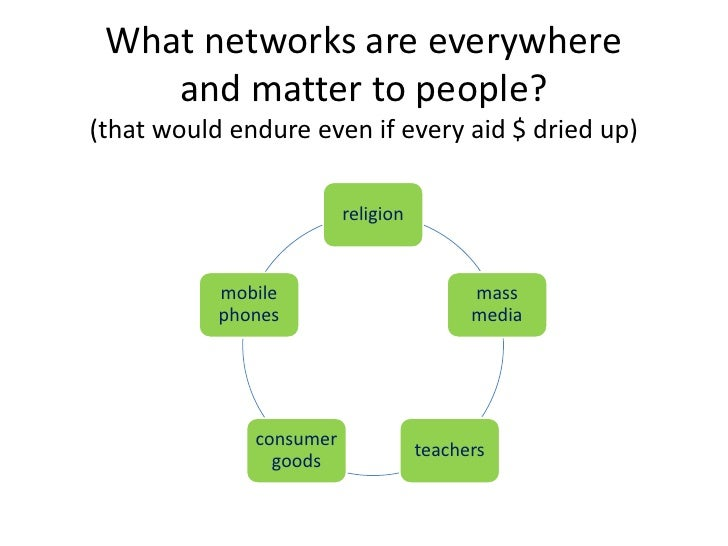Work with 5 networks to fuel flows of  information, stories, and ideas• Make it easier for people to get, make, share  inf...