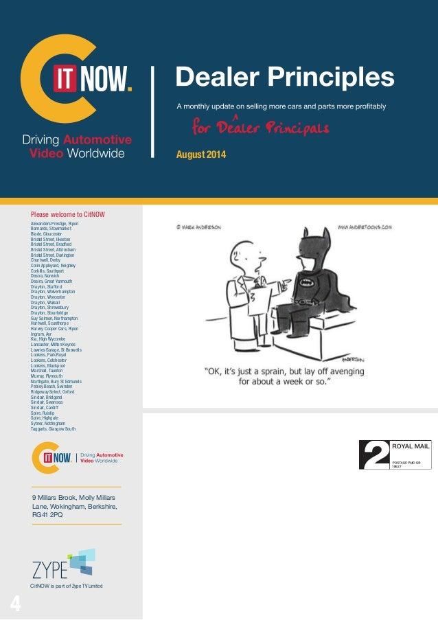 Citnow Newsletter August 2014