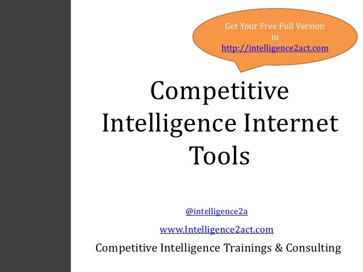 Get Your Free Full Version                                       in                         http://intelligence2act.com   ...