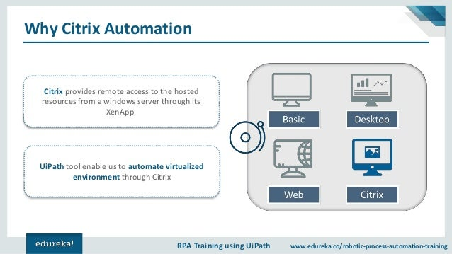 UiPath Citrix Automation | Image and Text Automation in