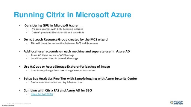 Citrix Cloud XL - Running Ctirix in Public Cloud