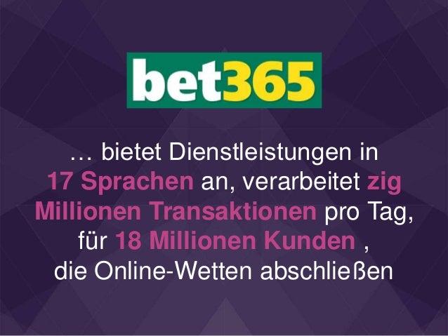 … bietet Dienstleistungen in 17 Sprachen an, verarbeitet zig Millionen Transaktionen pro Tag, für 18 Millionen Kunden , di...