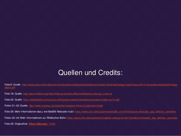 Quellen und Credits: Folie 6: Quelle http://www.cisco.com/c/dam/en/us/solutions/collateral/enterprise/connected-world-tech...