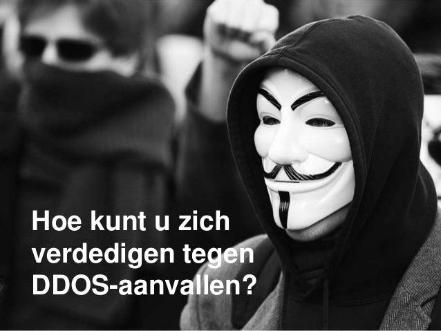 Hoe kunt u zich verdedigen tegen DDOS-aanvallen?