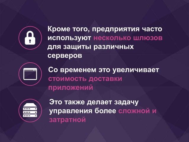 Кроме того, предприятия часто используют несколько шлюзов для защиты различных серверов Со временем это увеличивает стоимо...