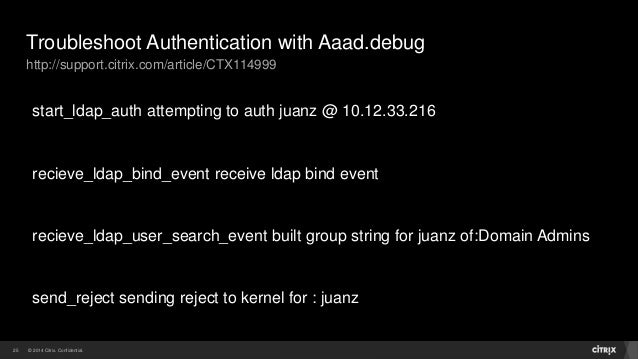 The ldap search credentials are invalid