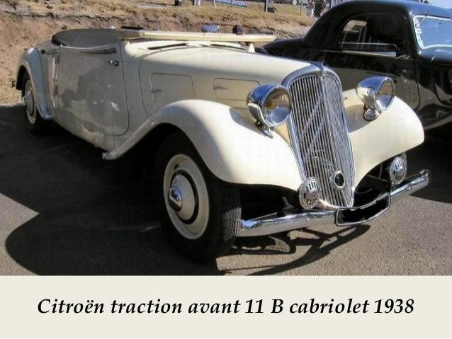Citroën TA 11B 1939 cabriolet pour la Grande Bretagne