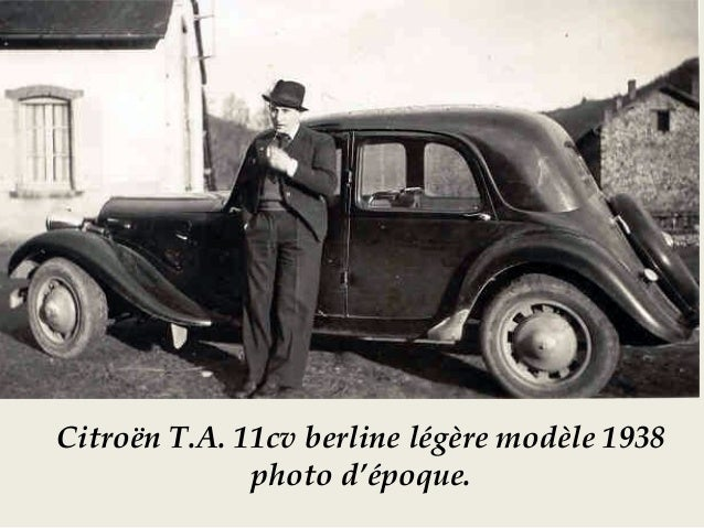 Citroën T.A. 11CV Normale - 1949