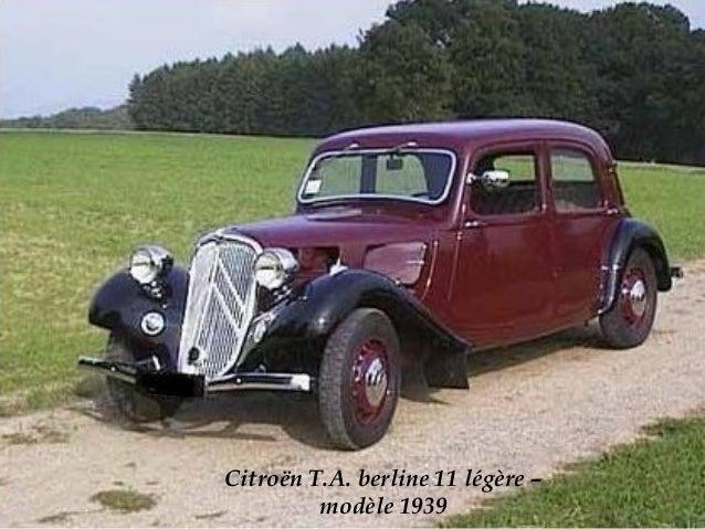 Poste de conduite d'une traction avant Citroën des années 1953.