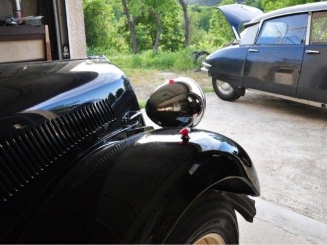 La dernière Citroën traction avant 15 six-H-1954 -1955-suspenson hydropneumatique à l'arrière-système repris par la suite ...