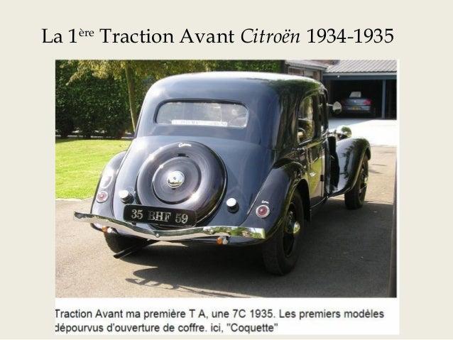 Traction 7CV 1938 décapotable