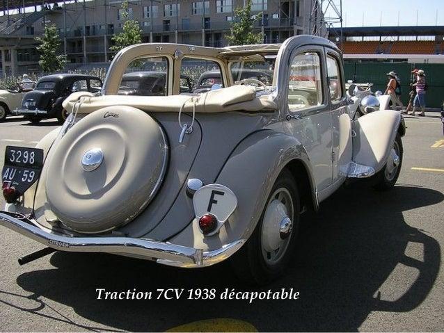 Citroën 7Cv décapotable 1938