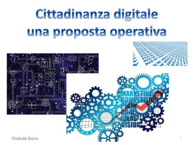 Cittadinanza Digitale Materiali E Proposte
