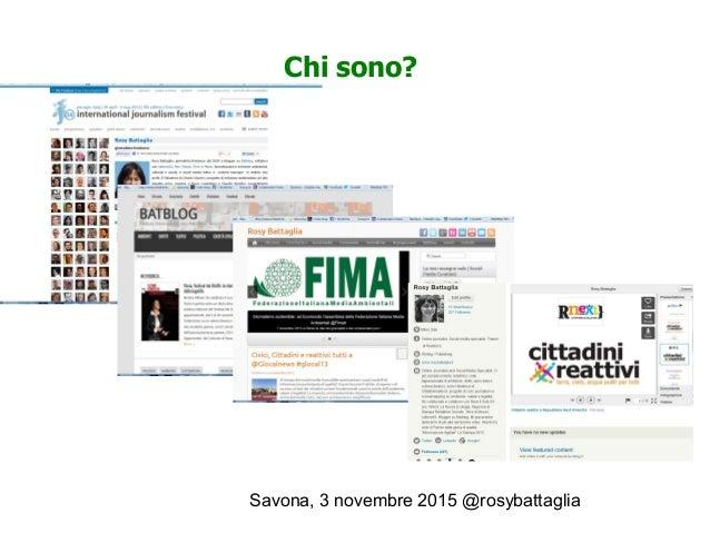 Le inchieste multimediali - Corso di Giornalismo Ambientale Laura Conti  Slide 2