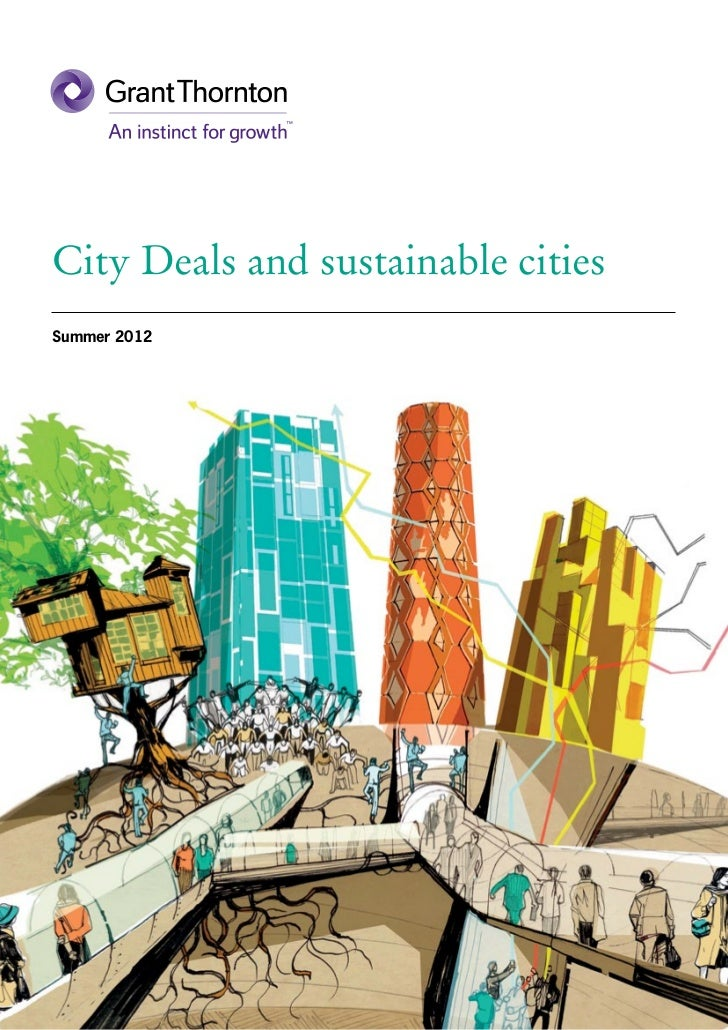 City Deals and sustainable citiesSummer 2012