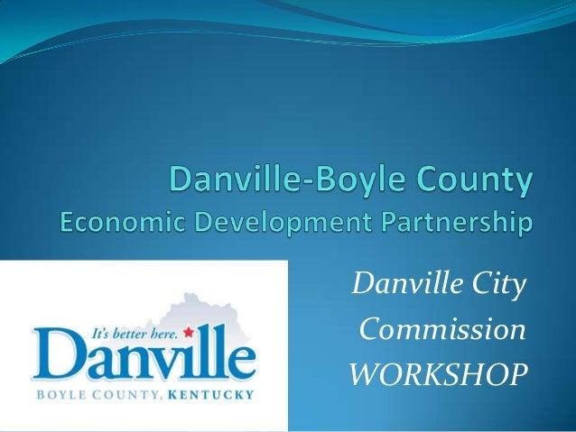 Danville CityCommissionWORKSHOP