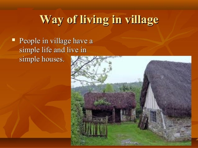 essay about city living and country living Challenges & benefits of country living – part 1: but the truth is that for many folks used to city living, country living is a really foreign thing.