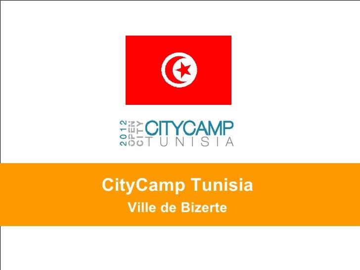 CityCamp Tunisia   Ville de Bizerte