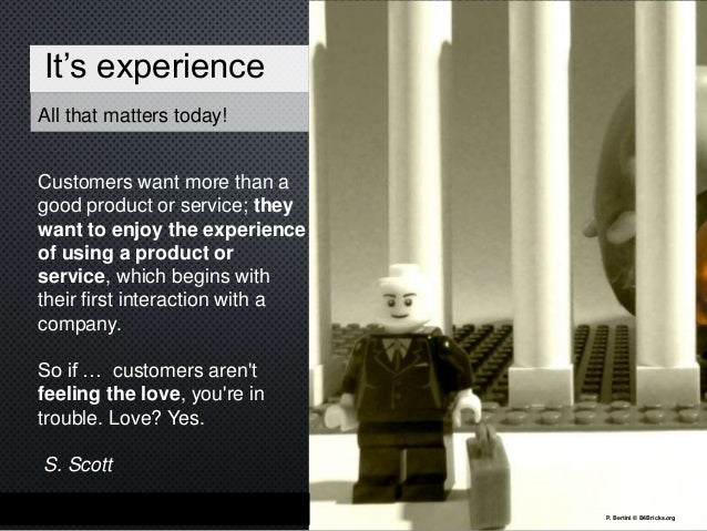 The experience economy The Shift Most product designers focus primarily on the internal mechanics of the good itself: How ...