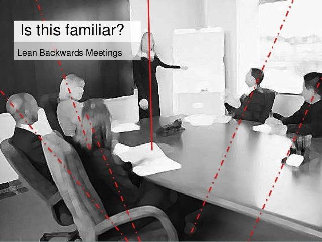 Lean Forward Meetings Posture & attitude