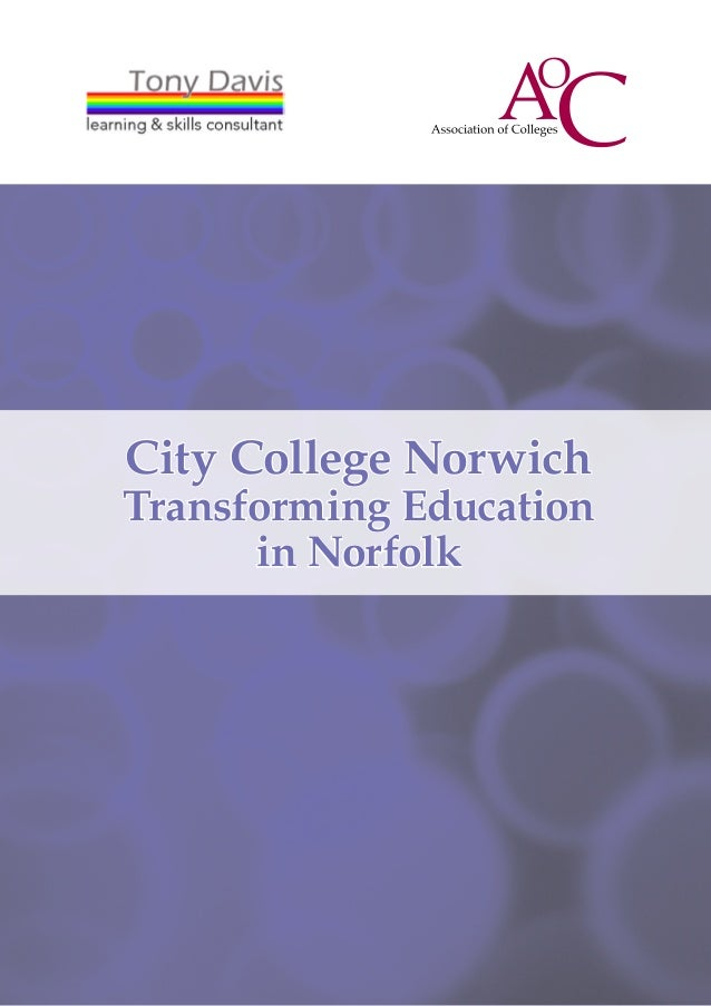 City College NorwichTransforming Education      in Norfolk