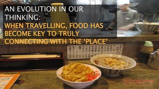 FOOD, TECH AND TOURISM MOTIVATION