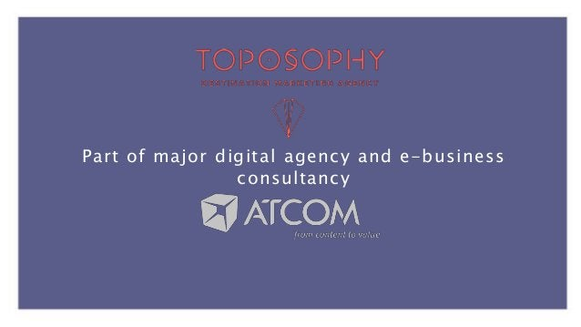 Strategy & Research Branding Digital WE REVEAL THE BEST OF WHAT EVERY PLACE HAS TO OFFER