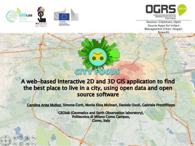 City focus: A web-based interactive 2D and 3D GIS application to find…