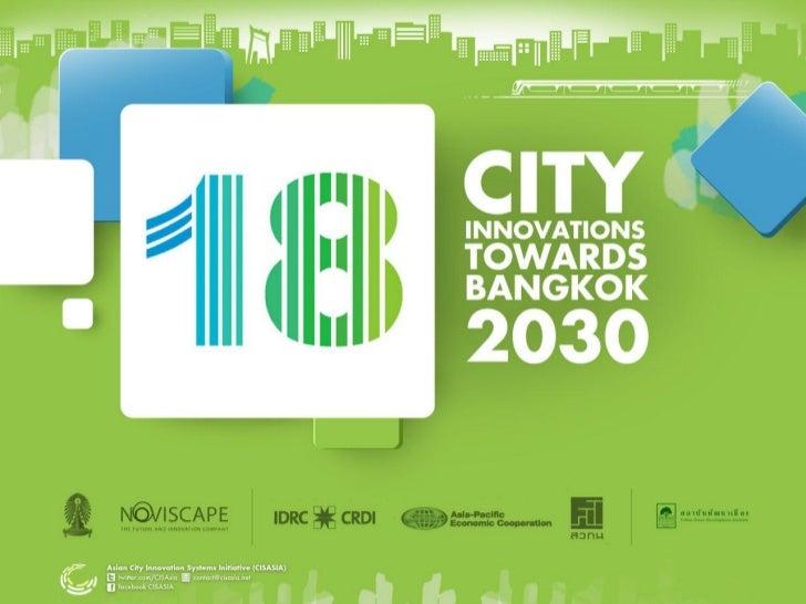 City innovation system in bkk