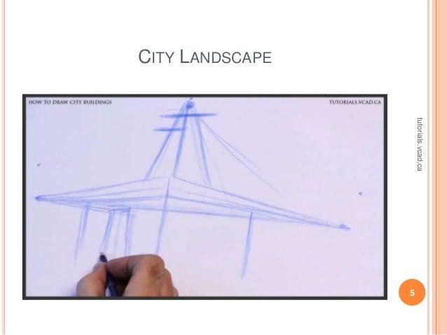city landscape drawing tutorial