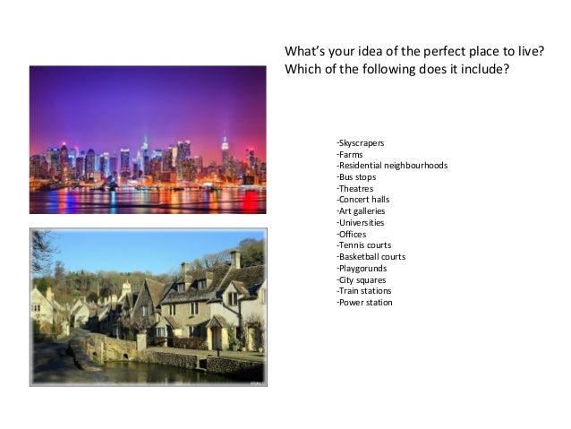 SPEAKING, PARTS 2, AND 4. CITY LIFE Slide 2