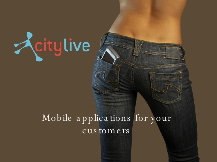 Mobile applications for your customers