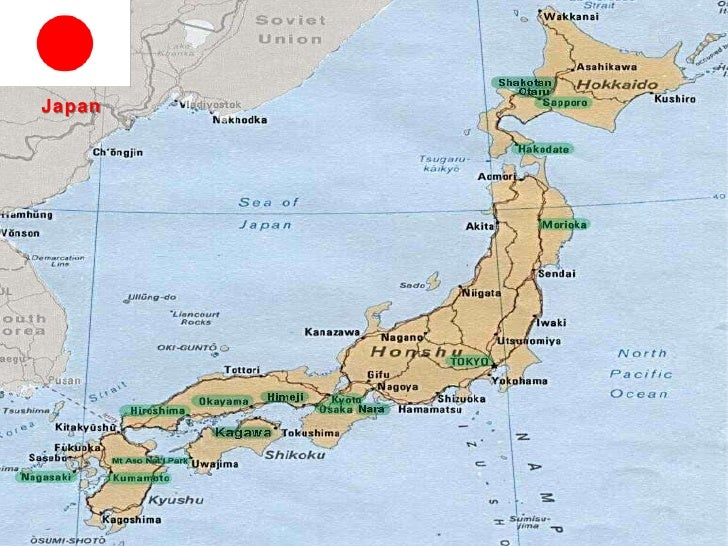 Japan<br />Sun country<br />